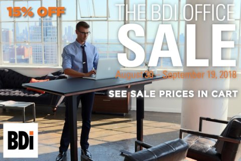 BDI Office Furniture Labor Day Sale 2018