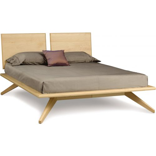 Copeland Furniture Astrid Bed With 2 Panel Headboards In Natural Maple