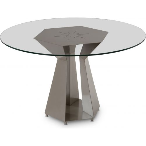 Elite Modern Poly 54 Inch Round Dining Table 3010 54