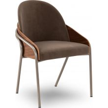 Elite Modern - Cove Dining Chair with Wood Back (4055)