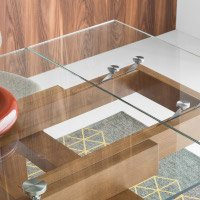 Browse glass dining tables