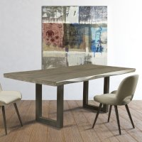Browse wood dining tables