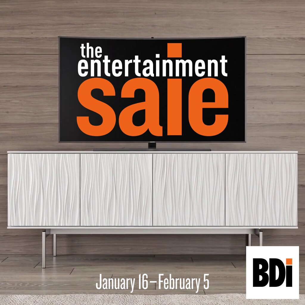 The 2020 BDI Entertainment Furniture Sale