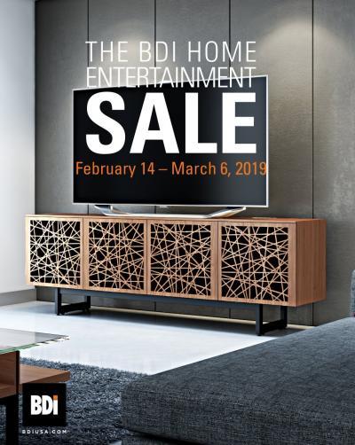 BDI Home Entertainment Sale 2019