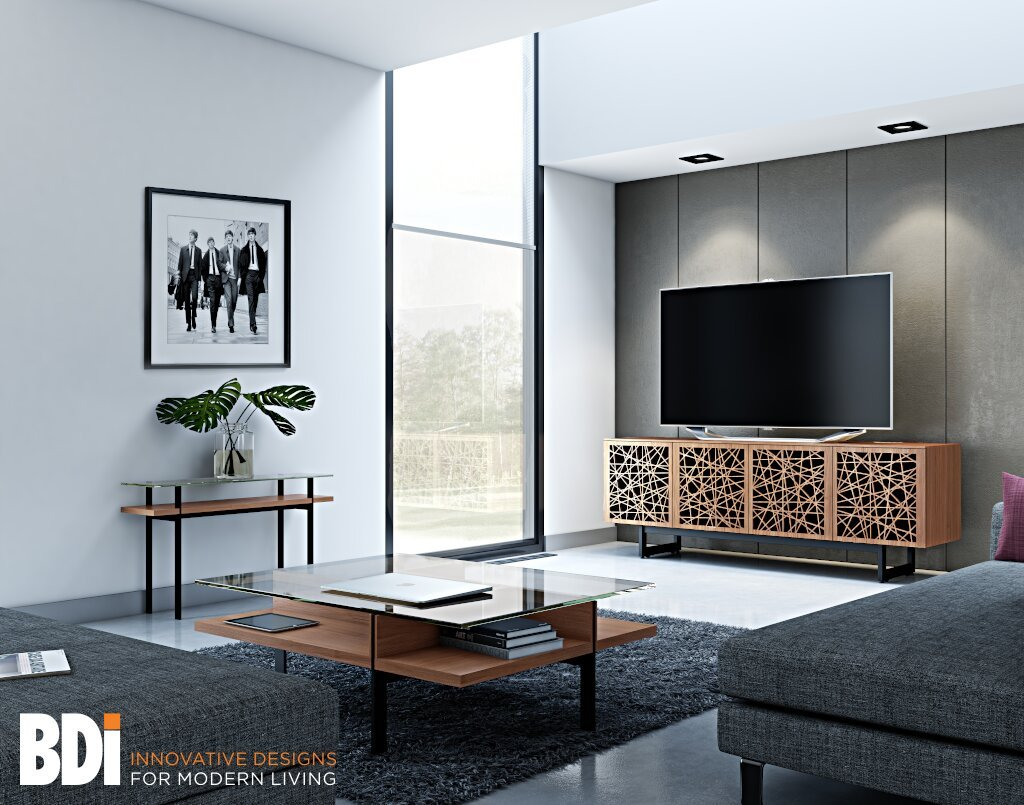 See the Elements quad-width media cabinet in our showroom!